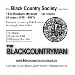 The Blackcountryman back issues (volumes 11-20) 1978-1987 - Used