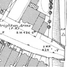Birmingham Ordnance Survey map VI.13.4 & 13.4A- Download