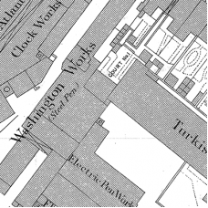 Birmingham Ordnance Survey map XIII.8.20 - Download