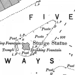 Birmingham Ordnance Survey map XIII.8.24 & 24A - Download