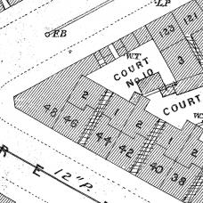 Birmingham Ordnance Survey map XIII.8.9A - Download