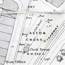 Birmingham Ordnance Survey map XIV.1.4 - Download