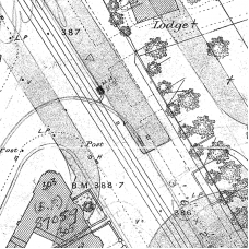 Birmingham Ordnance Survey map XIV.10.21A - Download