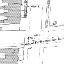 Birmingham Ordnance Survey map XIV.6.13 & 13A - Download