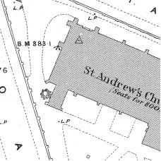 Birmingham Ordnance Survey map XIV.6.16 & 16A - Download