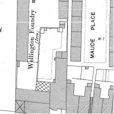Birmingham Ordnance Survey map XIV.6.17 & 17A - Download