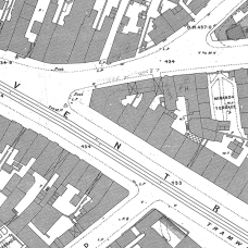 Birmingham Ordnance Survey map XIV.6.22 & 22A - Download