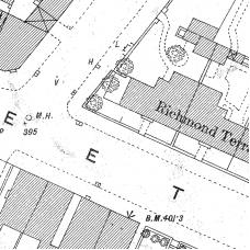 Birmingham Ordnance Survey map XIV.9.14 & 14A - Download