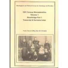 Stourbridge Part 1 - 1851 census Surname index Volume 1