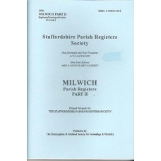 Milwich Parish Registers - Part 2 Baptisms, Marriages, Burials 1713-1812