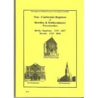 Bewdley and Kidderminster Non Conformist Registers