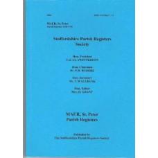 Maer St. Peter Parish Registers transcripts 1558-1746