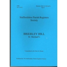 Brierley Hill Parish Registers/Records - Baptisms and Burials 1813 - 1837