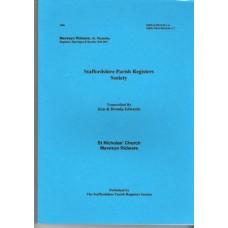 Mavesyn Ridware St. Nicholas Parish Registers