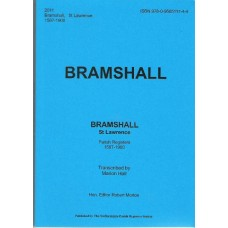 Bramshall St. Lawrence, Parish Registers 1587-1900