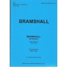 Bramshall St. Lawrence, Parish Registers 1587-1900