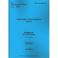 Kingstone St. John the Baptist Parish register transcripts