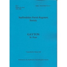 Gayton St. Peter Parish Register transcripts 1593-1900