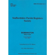 Bobbington Holy Cross Parish Register Transcripts 1571-1837