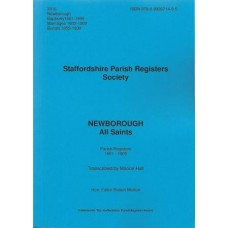 Newborough All Saints Parish Register Transcripts 1601-1900 - Book
