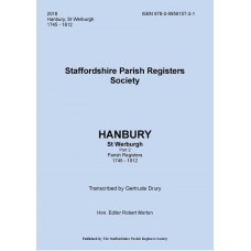 Hanbury St. Werburgh Staffordshire Parish Register Transcripts - Part 2 - 1745-1812 - Book
