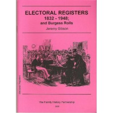 Electoral Registers 1832-1948 and Burgess Rolls