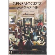 GENEALOGISTS MAGAZINE - Back issues 1995 - 2010