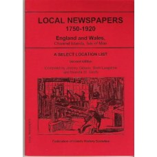 Local Newspapers 1750-1920 3rd edition