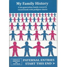 My Family History - A ten generation family research record book with pedigree charts - Version 2