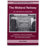 Midland Railway on old picture postcards