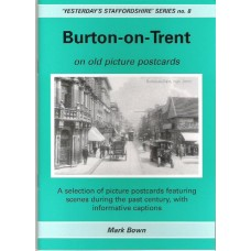 Burton on Trent on old picture postcards
