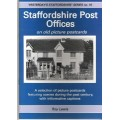 Staffordshire Post Offices on old picture postcards