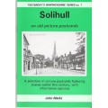 Solihull on old picture postcards