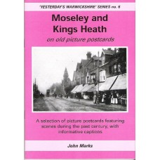 Moseley and Kings Heath on old picture postcards