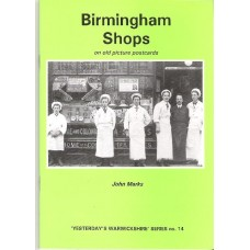 Birmingham Shops on old picture postcards
