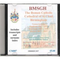Birmingham St. Chad Parish register transcripts