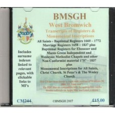 West Bromwich Parish register transcripts