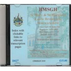 Castle Bromwich Parish register transcripts