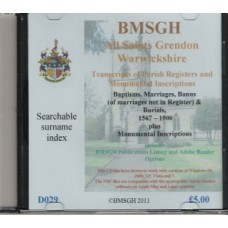 Grendon All Saints Parish Registers