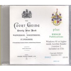 Court Guide and County Blue Book for Warwickshire, Worcestershire and Staffordshire 1902