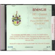 Newport - 1851 census Staffordshire