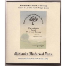 Warwickshire Poor Law Records - indexed by Coventry Family History Society