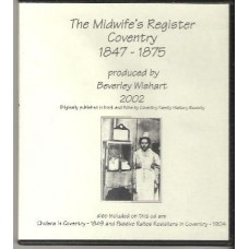Coventry - The Midwife's Register 1847-1875