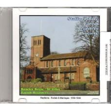 Rowley Regis St. Giles Parish Registers
