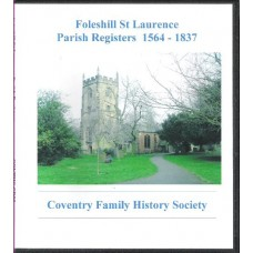 Foleshill Parish Registers - 1564-1837