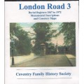 Coventry London Road Civic Cemetery Burial Registers 1847-1972