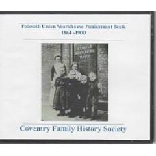 Foleshill Union Workhouse Punishment Book 1864-1900