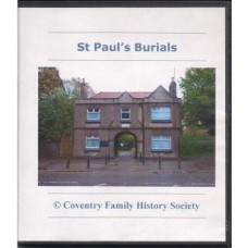 Coventry St. Pauls Burials 1892-1987