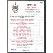 Staffordshire 1851 Census