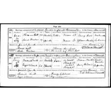 Birmingham St. Martin's Parish Registers - Single Copies of original Register pages